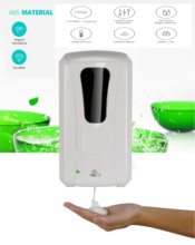 Wall Mounted Sensor Touchless Automatic foam soap dispenser bathroom infrared induction smart foam soap dispenser 1200ml automatic foam soap dispenser intelligent infrared contactless 350ml battery powered electric soap dispenser