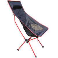 Red Traveling light line Folding chair armchair outdoor leisure camping portable fishing chair armchair beach chair