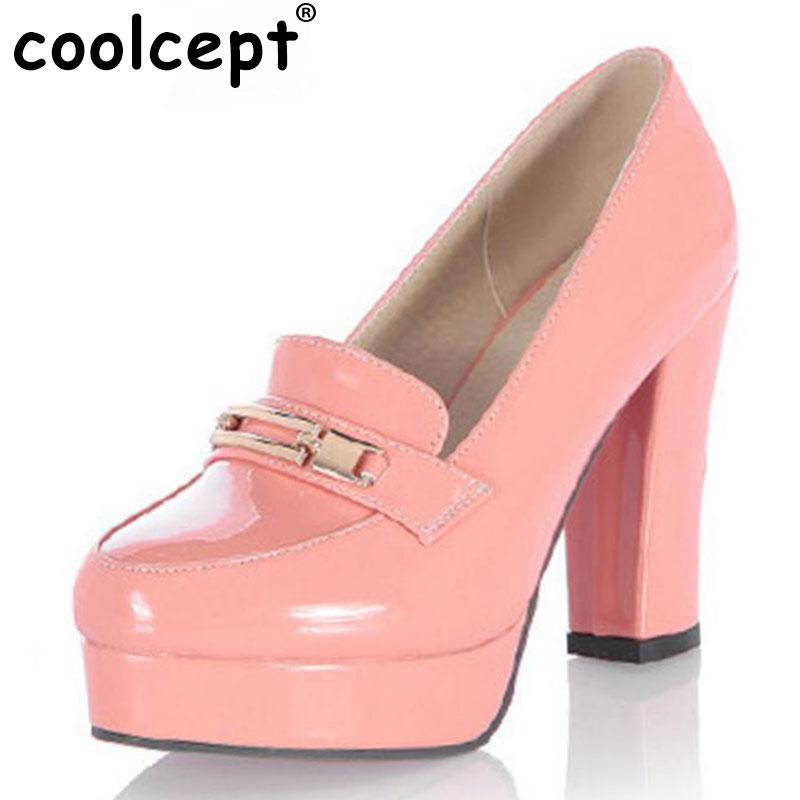 CooLcept free shipping high heel shoes platform women sexy dress footwear fashion P11125 hot sale EUR size 34-43 free shipping falt shoes women sexy footwear fashion casual shoes p11463 eur size 34 43