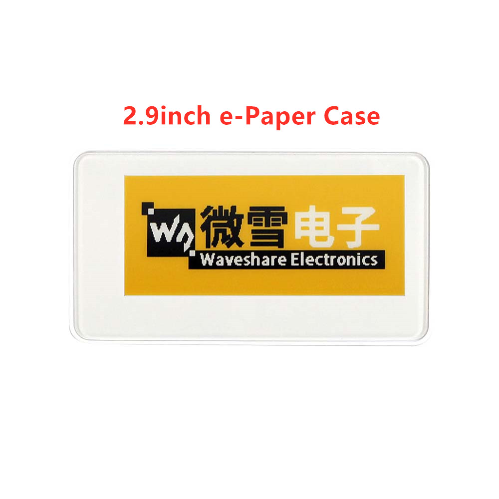 Waveshare 2.9inch E-Paper Protection Case, For E-Paper Raw Panel
