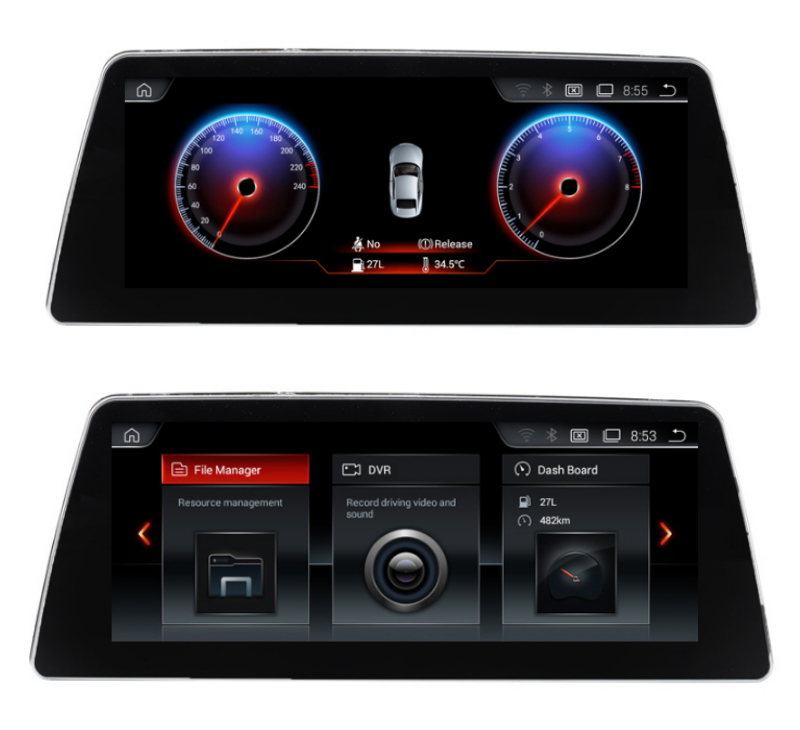 10.25 Quad core Android 7.1 Car GPS radio Navigation for BMW 7 Series G11 G12 2016 2018