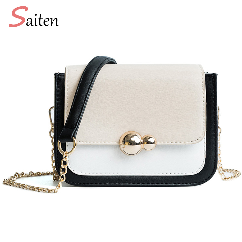 2018 Women Messenger Bags for Women Shoulder Bag Leather PU Fashion Chains Bag Ladies Crossbody Bags bolsa sac a main femme de все цены