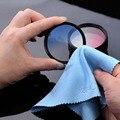 10 unids Alta Calidad Gafas De Microfibra Paño de Limpieza de Lentes de limpieza limpiador Limpiador de Lente de La Cámara Filtro UV CPL FLD ND limpia
