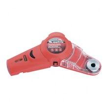 Лазерный уровень MATRIX 35040 (расстояние замера до 5 м, погрешность ±0,1 мм, пластиковый ударопрочный корпус, приспособление для сверления и пылесборник)