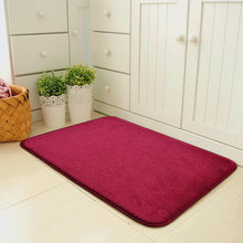 Convenient Magic Non Slip Door Mat Dirts Trapper Indoor Super Absorbent Doormat LXY9 FE14(China)