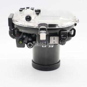 Image 5 - 40M 130ft Waterproof Underwater Diving Camera Housing Case for Olympus O MD E M5 Mark II OMD EM5 II + 12 50 f/3.5 6.3 Lens