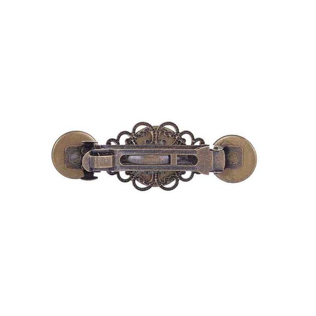 Creative Gear Wheels Shaped Metal Steampunk Barrettes