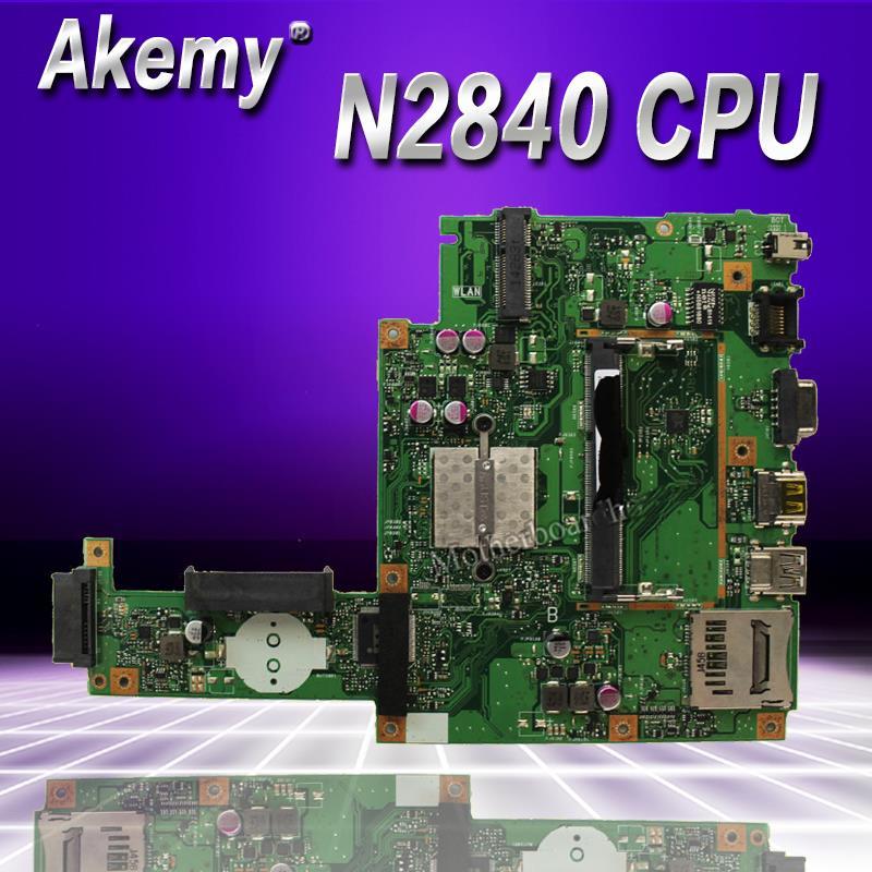 Akemy pour ASUS X453MA X403M F453M ordinateur portable carte mère X453MA N2830 N2840 CPU carte mère test bon