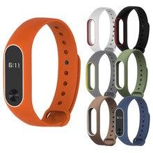 2018 Newfashion  smartband fitness band  Silicon Wrist Strap WristBand Bracelet Replacement For XIAOMI MI Band 2
