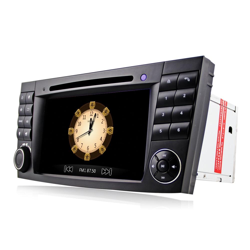 Eunavi 2 Din Auto DVD-Radio-Player GPS-navigation für Mercedes/Benz W211 W219 W463 CLS350 CLS500 CLS55 E200 e220 E240 E270 E280