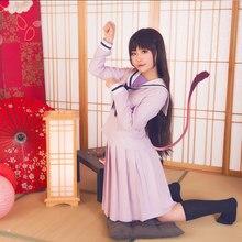 Noragami Yukine Hiyori Iki Anime okul üniforması denizci elbisesi kıyafet Cosplay kostümleri