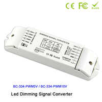 0/1-10V to PWM 5V/PWM 10V 2 DIP switches out 4 channels LED dimming signal converter signal driver controller for led lamp
