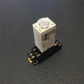 10 комплектов H3Y-2 H3Y Мощность на таймер задержки DC 12V 5S 10 s 30С 60С время реле DPDT 8 контактов 2NO 2NC с PYF08A цоколя