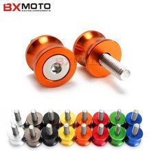 font b Motorcycle b font stands screws font b Swingarm b font Spools slider Orange