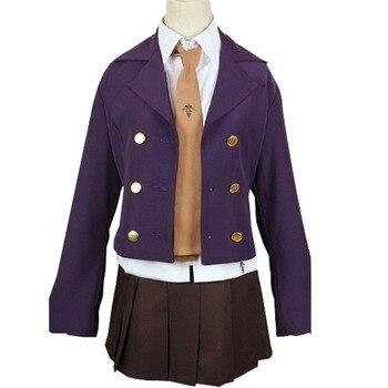 2018 Danganronpa 3 The End of Hope KyokoKyouko Kirigiri Suit Uniform Halloween Cosplay Costume Beautiful Dress For Cute Female S