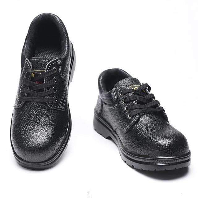 Manufacturers Wholesale Wear-Resisting Safety Labor Insurance Shoes  Prevention Hit Puncture Proof Protective  Density Steel