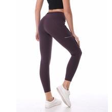 NWT 2018 Для женщин спортивные штаны сексуальные бедра спортивные штаны с светоотражающие Запуск Леггинсы Наивысшее качество ткани стрейч Размеры US4-US12