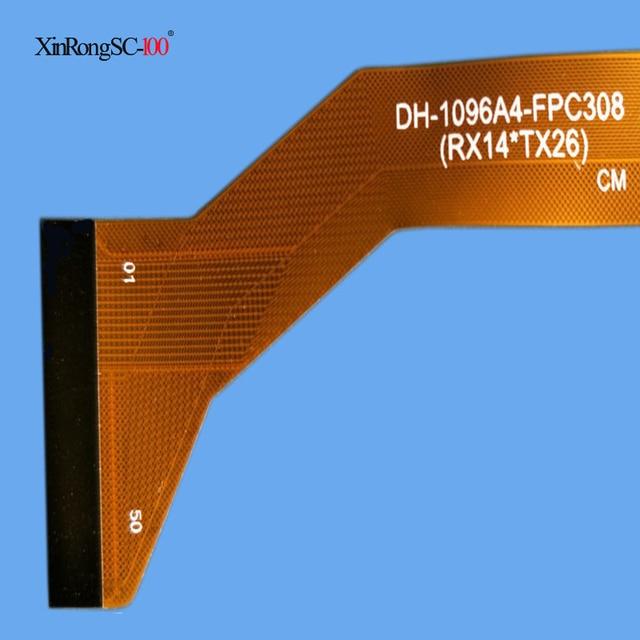"10.1 ""اللمس شاشة DH-1096A4-FPC308 CH-1096A4-PG-FPC308-V01 ZS SQ-PGA1308W01-FPC-A0 FPC-WWY101005A4-V00 HN 1040-FPC-V1 ZY-1001"