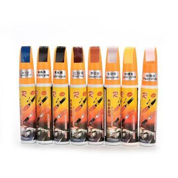 Farba do malowania Pen wodoodporna pielęgnacja samochodów farby naprawy długopis urządzenie do usuwania zadrapań z samochodu malowanie Remover Pen 8 kolorów OX tanie i dobre opinie Malarstwo długopisy Painting Pens 27 0 03 12ml Plastic Paint Care Pen NoEnName_Null