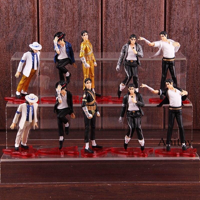 The World Tour Dangerous King of POP Michael Jackson Figures Dolls PVC Action Figure Collectible Model Toy 5pcs/set виниловая пластинка jackson michael dangerous