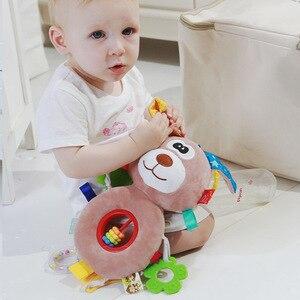 Image 3 - Loozykit תינוק רעשנים צעצועי עגלת תליית רך צעצוע חמוד בעלי החיים בובת תינוק עריסה תלוי פעמונים צעצועי s ממולא רך צעצועים