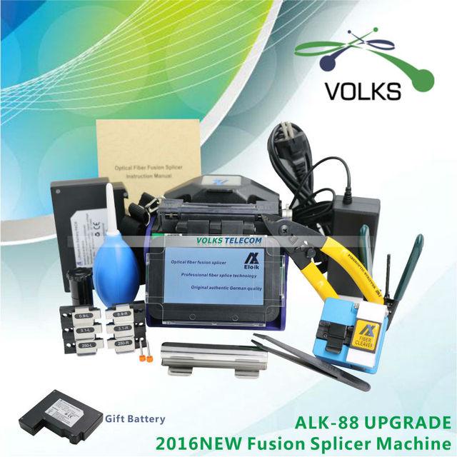 Fast волоконно-оптические fusion splicer ALK-88A Eloik бесплатная доставка