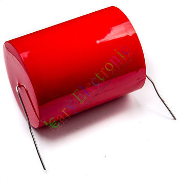 Wholesale and retail 10pc MKP 250V 82uf long copper leads Axial Electrolytic Capacitor audio amp part free shipping