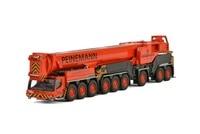 ВИС 1: 87 Liebherr LTM1750 9.1 Peinemann кран Engineering Machinery 71 2015 литая игрушка модель для коллекции, украшения