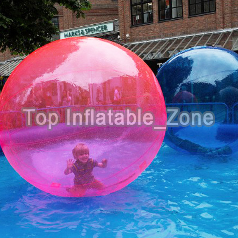 Free Shipping Top Quality 2m Water Walking Ball Giant Water Ball Zorb Ball Ballon Inflatable Water Zorb Ball For Game Dance