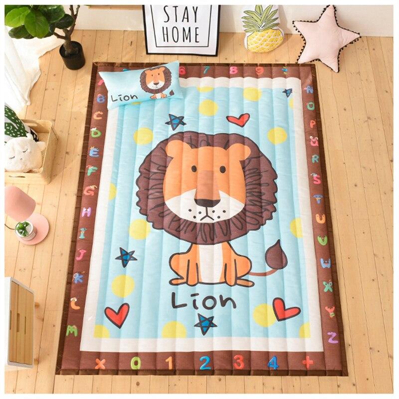 Kawaii мультфильм детская игра коврики Детский коврик для ползания одеяло пол ковер для детской комнаты Игровой Коврик развивающий коврик ков