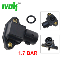 Brand New 1.7 Bar Intake Manifold Air Pressure MAP Sensor For ROVER 400 MHK100590 MHK 100590