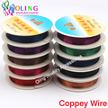 0.6MM 5M/Roll Copper Wire plated Silver Golden Copper Beading Wire Jewelry Findings DIY Jewelry Accessories 2016