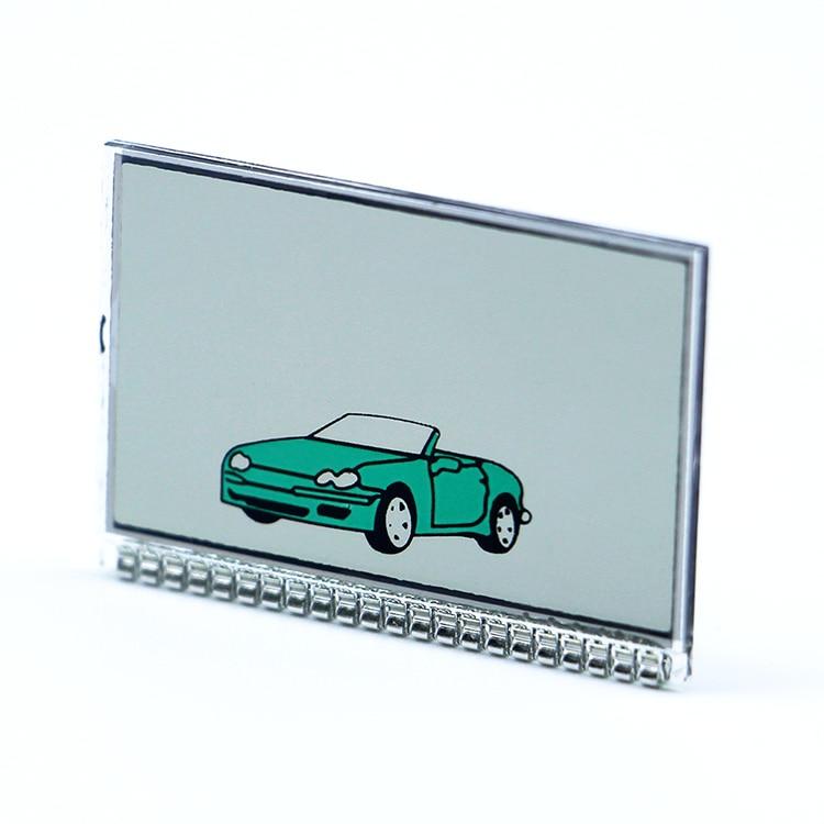 TZ9010 Lcd Display For Russian 2 Way Car Alarm LCD Remote Control Key Fob Chain Tomahawk Tz-9010 TZ 9010 Keychain