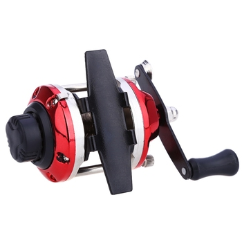 Mini Right Hand Bait Casting Fishing Reel Sea River Ocean Boat Gear Fishing Reels Spinning with 0.2mm 50m Line Drum Fishing Reel