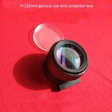 ミニプロジェクターのための一般的な使用レンズ LED プロジェクター DIY F125mm UC40 UC46 Rigal 投影 lcd 4 インチ