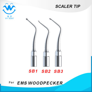 Dental cavity preparation tip compatible with WOODPECKER, EMS, HENRY SCEHEIN E-SERIES dental whitening