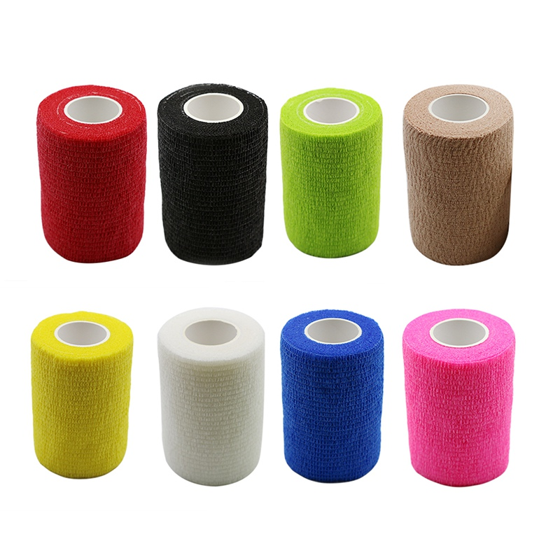 7.5CMX4.5M Waterproof Elastic Self Adhesive Bandage  Bandage Pet Bandages First Aid