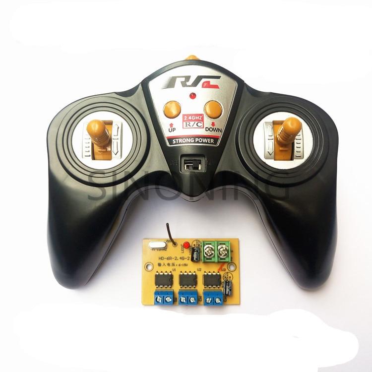6CH alta potencia G 2,4 50 Metro receptor de control remoto modelo de coche barco DIY 6-15 V