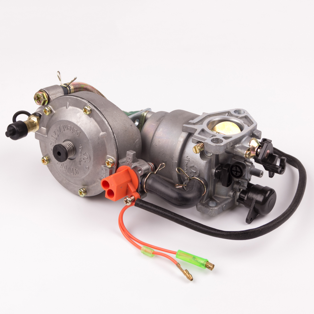 Classic CHINA LPG 188 NG Carburetor dual fuel LPG conversion kit for 5KW 6.5KW 188F 190F Gasoline Generator Dual Fuel Carburetor uxcell generator dual fuel carburetor carb lpg ng conversion kit 2kw gx160 gx200 168f 170f manual metal generators accessorie