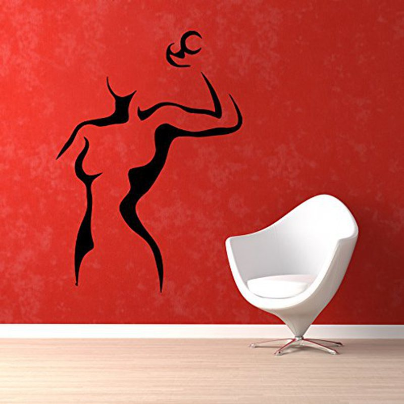 Pegatina Car Gym Sticker Fitness Dumbbell Decal Body-building Posters Vinyl Wall Decal