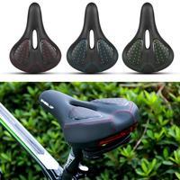 Silikon koltuk minderi Dağ bisiklet selesi Bisiklet Aksesuarları Arka Kırmızı  Yeşil  Mavi Işık Bisiklet Selesi    -