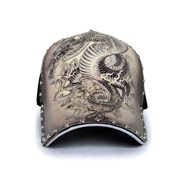 Prix pour Tatouage homme rue personnalité de la mode snapback chapeau illustrations dragon motif d'encre d'origine pur coton casquette de baseball gorras