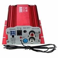 Hi Fi Power Amplifier 500W 2 Channel Car Stereo Audio MP3 USB Car Vehicle Remote Mini