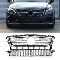 w218 gt gtr Grille Emblem Front Bumper mesh Grill For cls w218 2010 2014