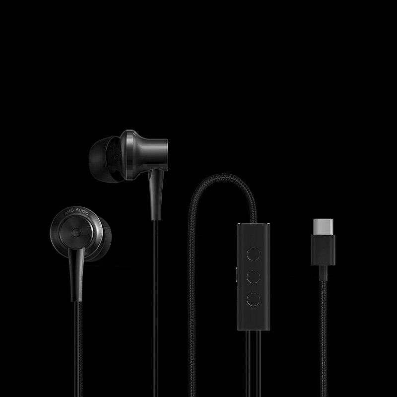 Original Xiaomi ANC Earphones Hybrid Type C Charging Free Mic Line Control for Xiaomi Mi6 MIX Note2 Mi5s /Plus Mi5 - 2