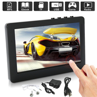 BCMaster player Premium mp4 Portable mp4 player e book Fm radio Recorder Touch Screen MP5 mp3 Player Music Video dropshipping