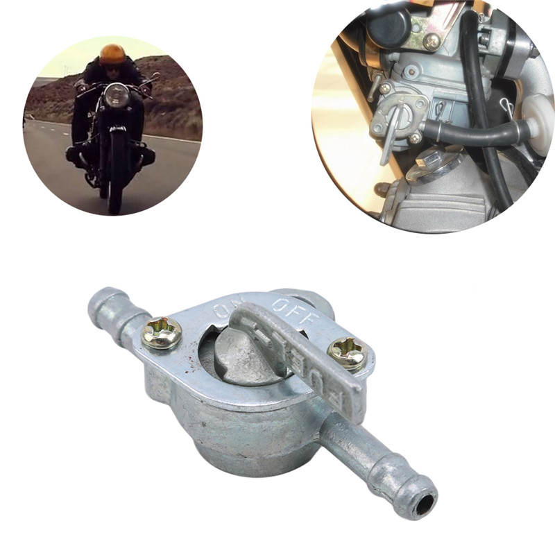 1 Pc Off-road <font><b>Atv</b></font> Booster Motorcycle Parts, Universal Modified Accessories Fuel Tank Gasoline Valve Oil <font><b>Switch</b></font> image