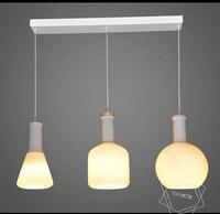 Nordico New Gass bottle Pendant Lamp Bedroom Luminaire Home Decoration Modern Light Fixtures For Restaurants 110 240V Lighting
