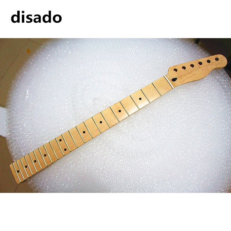 disado 21 Frets glossy paint maple Electric Guitar Neck maple fretboard inlay dots guitar accessories can be customized wilkinson guitar accessories st electric guitar three single coil pickup all colors can be customized real photos free shipping