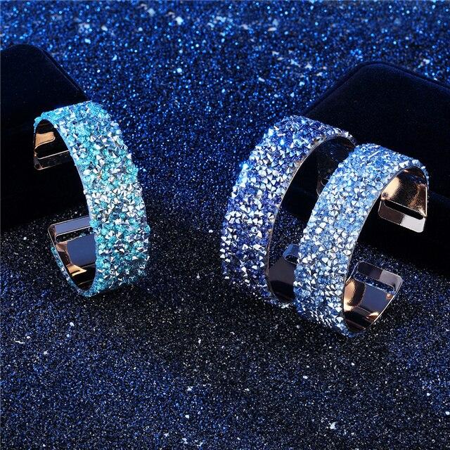 Женский браслет со стразами популярные классические браслеты